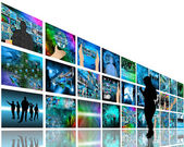 Internet wall — Stock Photo