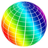 Color sphere — Stock Photo