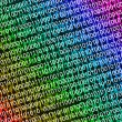 Foto Stock: Background of binary code