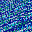 Stock Photo: Background of binary code