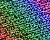 バイナリ コードの背景 — ストック写真