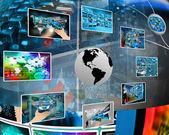 Obrázky kolem země — Stock fotografie