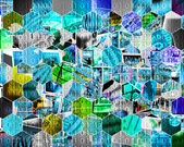 Background of binary code  — Stock Photo