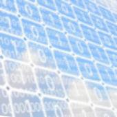 Background of binary code — 图库照片