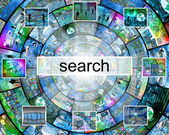Search — Stock Photo