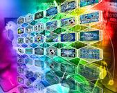 Wand der zelle — Stockfoto