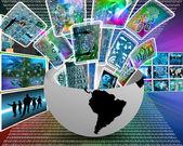 Multimedia — Stock Photo