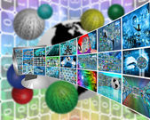 Image transmission — Stock Photo