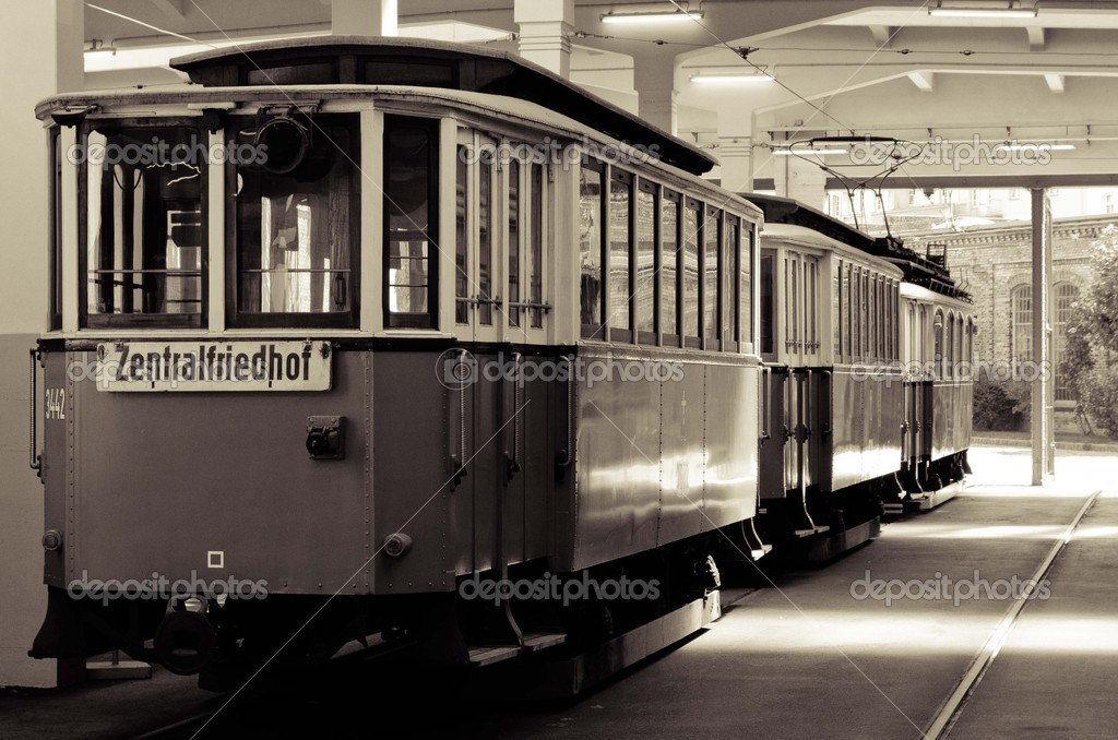 Old Tram Cable from the Cablemuseum Vienna,  — Stock Photo #13669596