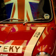 Stock Photo: British Patriotism Car