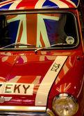 イギリスの愛国心の車 — ストック写真