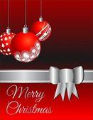 Christmas card / background — Stock Vector