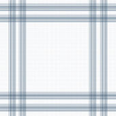 Blue and white checkered — Foto Stock