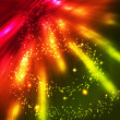 Multi colored sparkles — Stock Photo