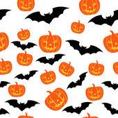 хэллоуин бесшовный фон — Cтоковый вектор
