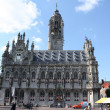City hall of Middelburg, Holland - Stock Photo