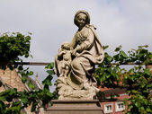 Statue of the Virgin Mary — Stock Photo