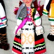 The Moldovan dolls in national costume   woman — Stock Photo