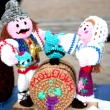 The Moldovan national dolls — Stock Photo #21204773