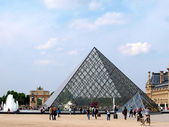 Louvre Palace in Paris, France — Stock Photo