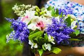 "Bouquet ""Violetta"" — Stock Photo"