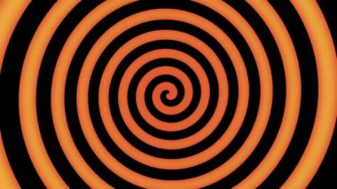 красочные спираль в движении — Стоковое видео
