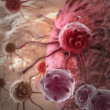 Cancer cell — Stock Photo