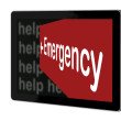 Emergency Sign — Stock Photo #28856477