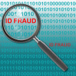 Id fraud — Stock Photo