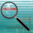 Stock Photo: Cyber crime
