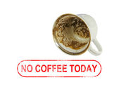 Empty coffee cup — Stock Photo