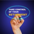 Take control of your retirement — Stock Photo #46728195