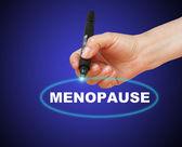 Menopausa — Foto Stock