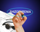 Schizophrenia — Stock Photo