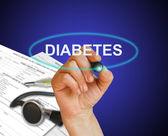 Diabetes — Stockfoto