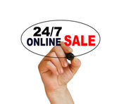Sprzedaży online — Zdjęcie stockowe