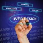 WEB DESIGN — Stock Photo
