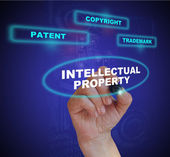 Intellectual property — Stock Photo