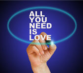 All you need is love — Stock Photo