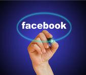 Facebook — Stock Photo
