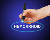 Hemorrhoid — Stock Photo
