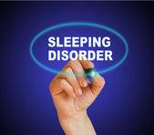 Ύπνου διαταραχή — Φωτογραφία Αρχείου