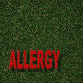 Allergia — Foto Stock