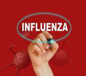 流感 — 图库照片