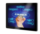 финансы — Стоковое фото