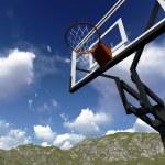 Street basketball board — Stock Photo #49792987
