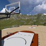 Street basketball board — Stock Photo #49793043