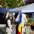 Romanian peasant in a fair — Stock Photo #13692685
