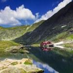 Landscape from Balea Lake — Stock Photo #28098527