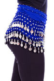 Torso of a belly dancer — Stock Photo